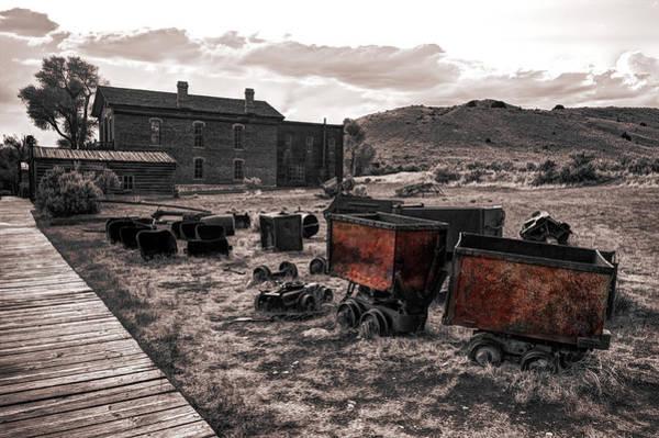 Wall Art - Photograph - Montana Mining History by Daniel Hagerman