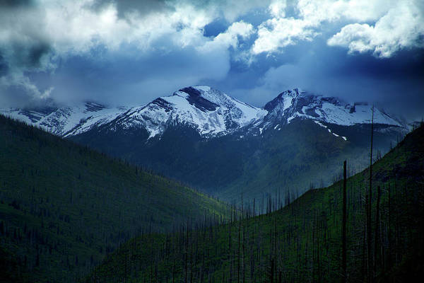 Photograph - Montana Mountain Vista #2 by David Chasey