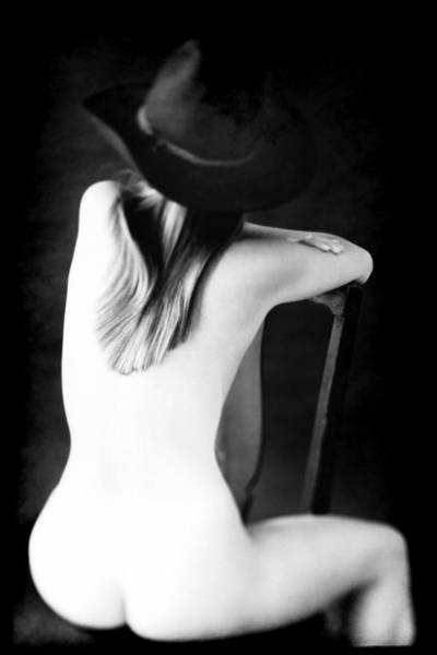 Photograph - Montana Mule Kick Nude  by Jennifer Wright