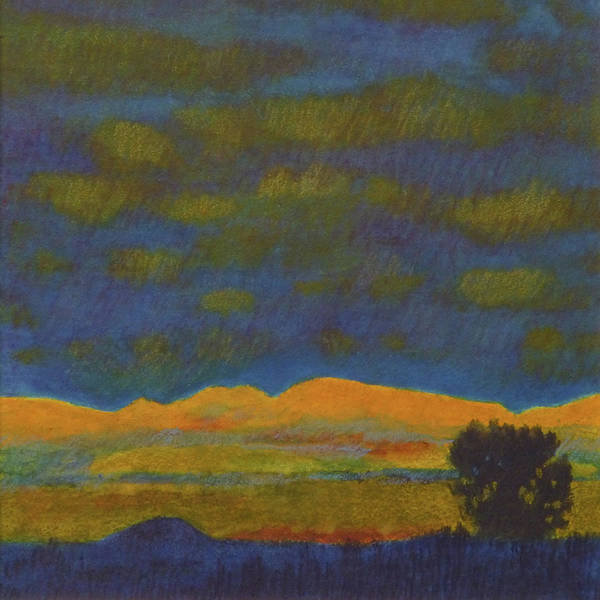 Painting - Montana Night Dream by Cris Fulton