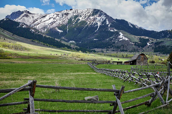 Wall Art - Photograph - Montana Ranch Land by Paul Freidlund