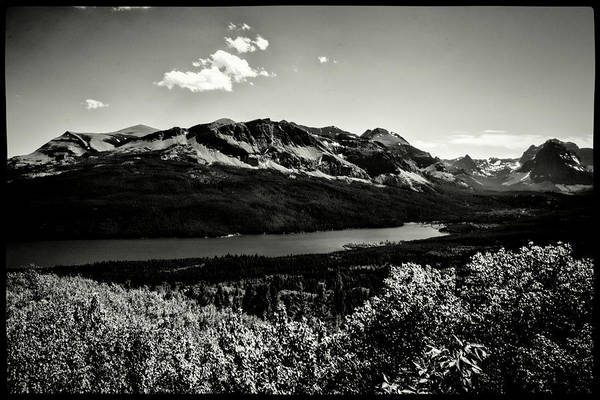 Photograph - Montana Rockies And St. Mary's Lake by Roger Passman