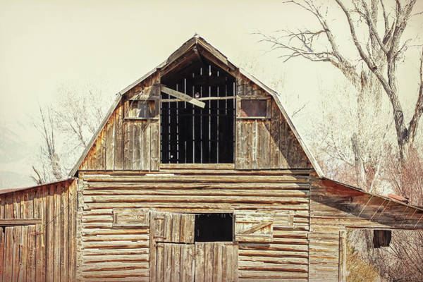 Wall Art - Photograph - Montana Rustic Barn by Jennie Marie Schell