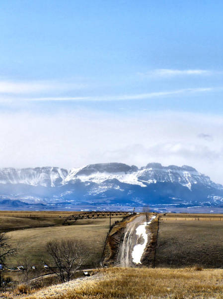 Montana Scenery One Art Print