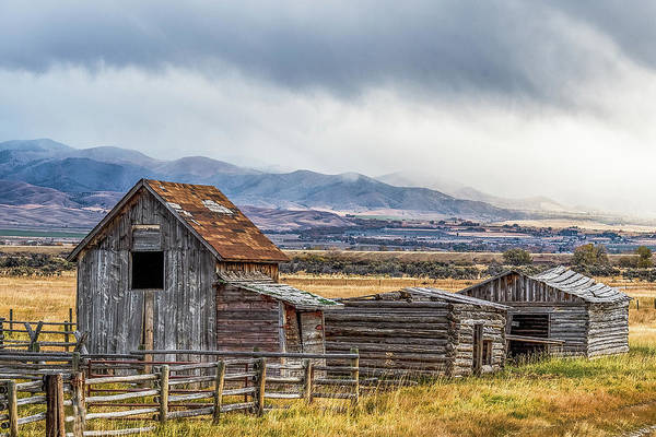 Wall Art - Photograph - Montana Scenery by Paul Freidlund