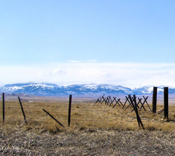 Photograph - Montana Scenery Two by Susan Kinney