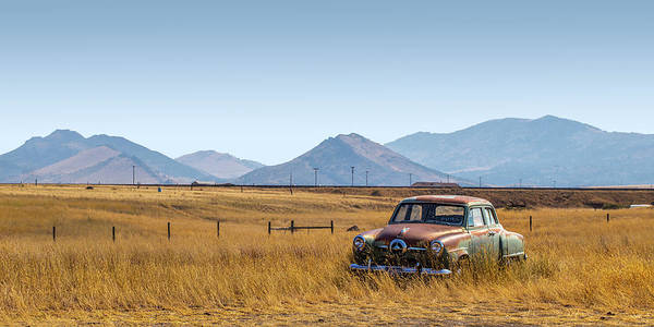 Photograph - Montana Studebaker by Peter Tellone