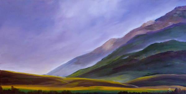 Painting - Montana Summer Foothills     66 by Cheryl Nancy Ann Gordon