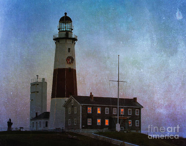 Photograph - Montauk Lighthouse by Ann Jacobson