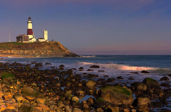 Photograph - Montauk Lighthouse by William Jobes