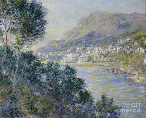 Ocean Breeze Wall Art - Painting - Monte Carlo by Claude Monet
