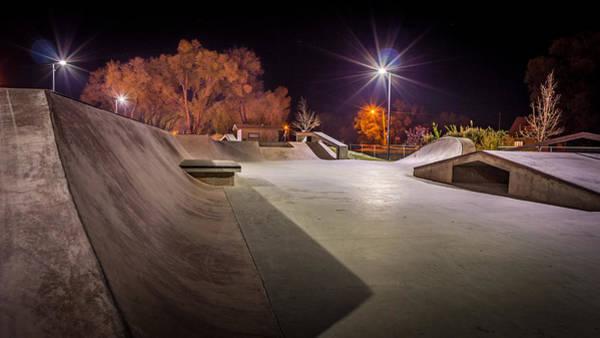 Roller Blades Photograph - Monte Vista, Co Skate Park by Kenneth Michel