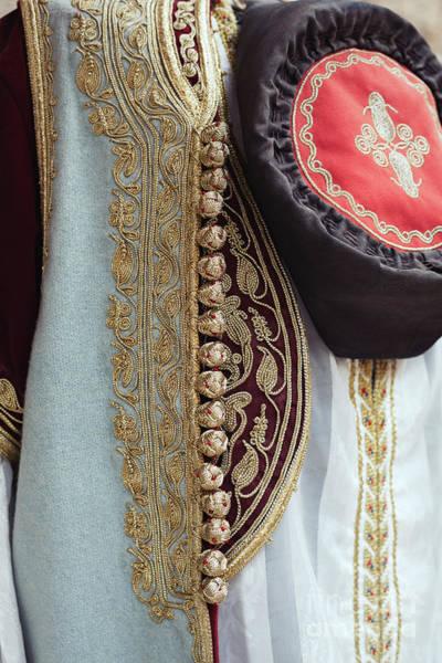 Ortodox Wall Art - Photograph - Montenegrin Female Traditional Dress Costume - Montenegro Travel by Rka Koka
