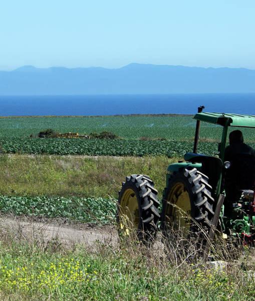 Monterey Bay Photograph - Monterey Bay Farm Country by Brendan Reals