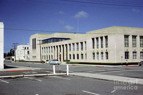 Photograph - Monterey County Courthouse, Salinas April 1959 by California Views Archives Mr Pat Hathaway Archives