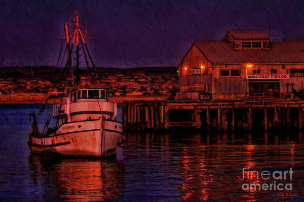 Photograph - Monterey Fish Company by Blake Richards
