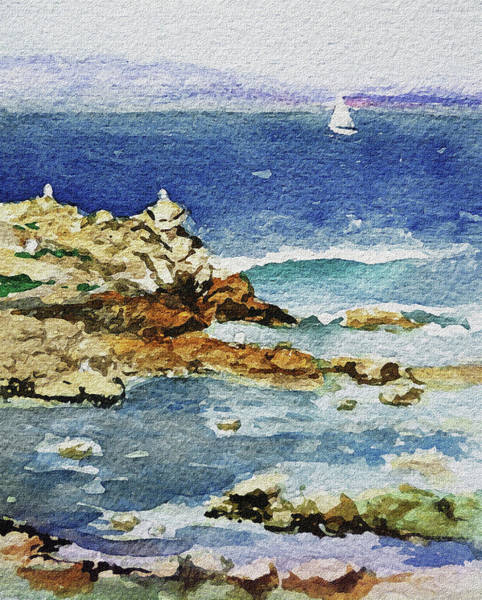 Monterey Wall Art - Painting - Monterey by Irina Sztukowski