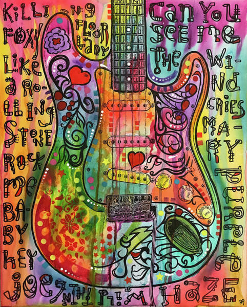 Wall Art - Painting - Monterey Strat by Dean Russo Art
