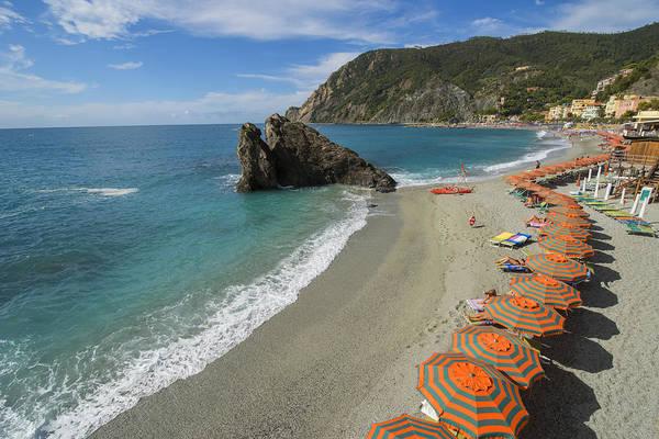 Photograph - Monterosso Beach Day by Brad Scott