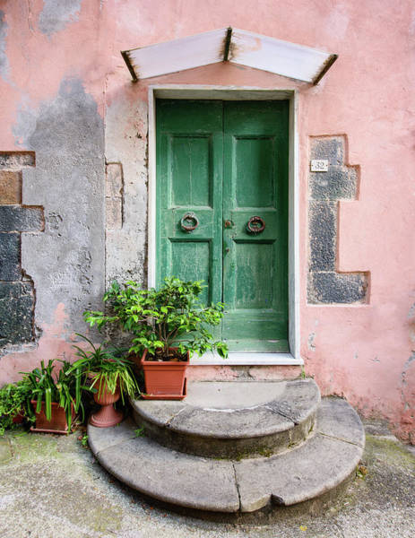 Photograph - Monterosso Facade #2 by Michael Blanchette