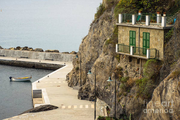 Photograph - Monterosso Harbor Details by Prints of Italy