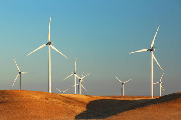 Wind Farm Photograph - Montezuma Hills by Todd Klassy
