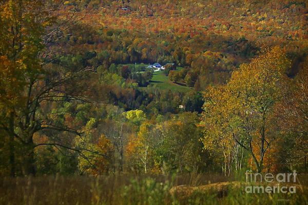 Photograph - Montgomery Hillside Of Color by Deborah Benoit