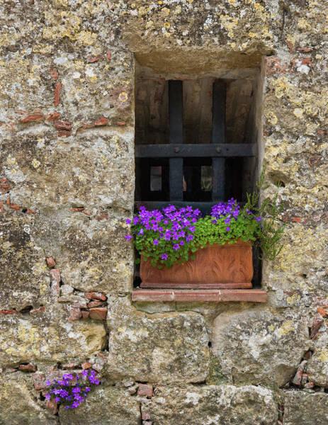 Photograph - Monticchiello Window #2 by Michael Blanchette