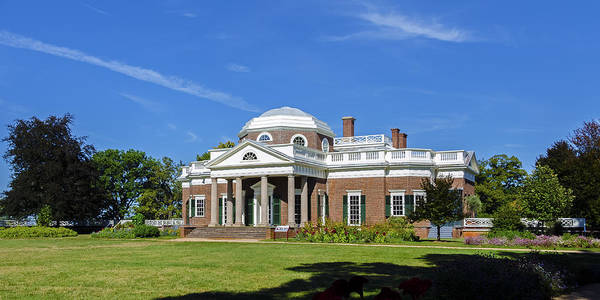 Photograph - Monticello by Greg Reed