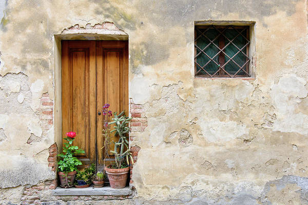 Photograph - Montisi Doorway by Michael Blanchette