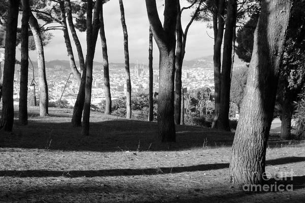 Photograph - Montjuic Barcelona by Karina Plachetka