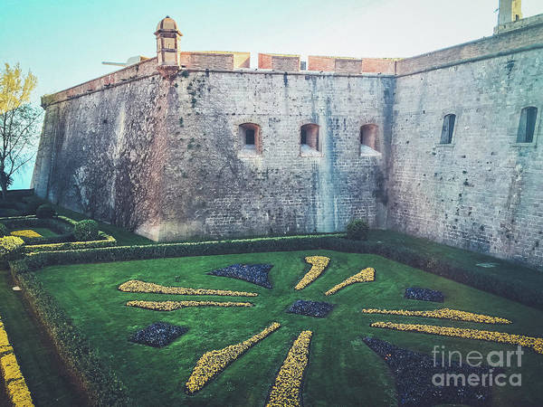 Wall Art - Photograph - Montjuic Castle Gardens by Colleen Kammerer