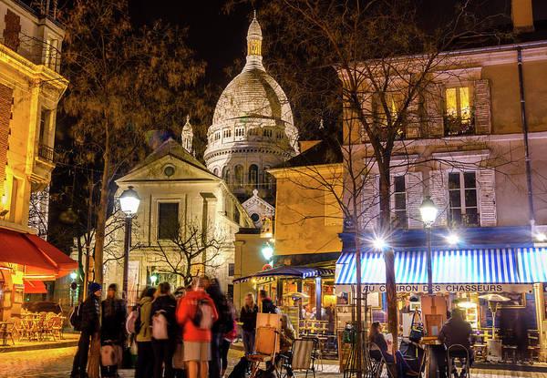 Photograph - Montmarte, Paris by Alexandre Rotenberg