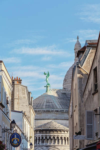 Wall Art - Photograph - Montmartre Architecture - Paris, France by Melanie Alexandra Price