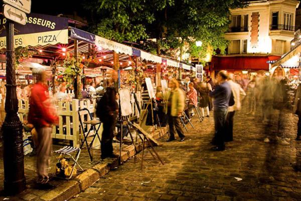 Photograph - Montmartre Artist Square Paris by Pierre Leclerc Photography