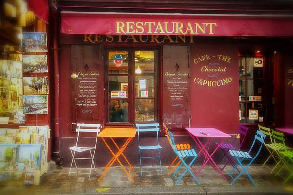 Photograph - Montmartre Restaurant by Gigi Ebert