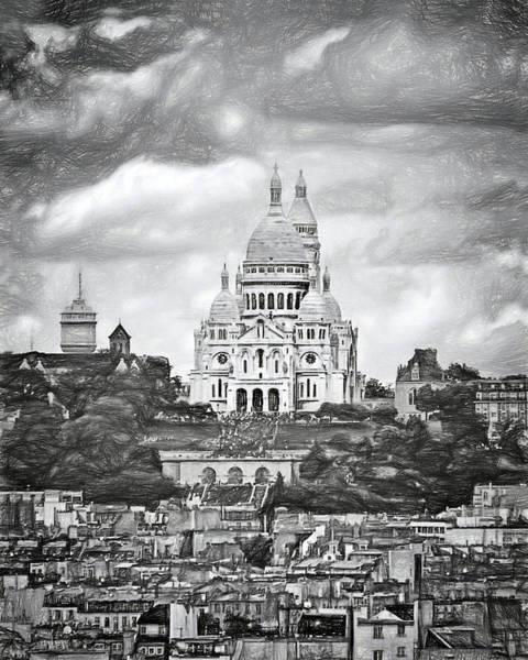 Sacred Heart Photograph - Montmartre - Sacre-coeur - Paris by Nikolyn McDonald