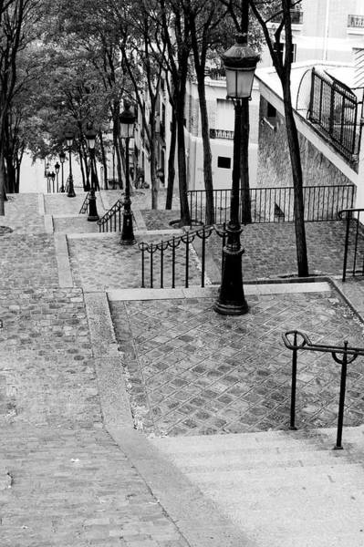 Photograph - Montmartre Stairway Paris by Pierre Leclerc Photography