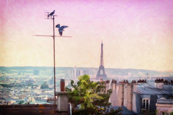 Wall Art - Photograph - Montmartre Views by Melanie Alexandra Price