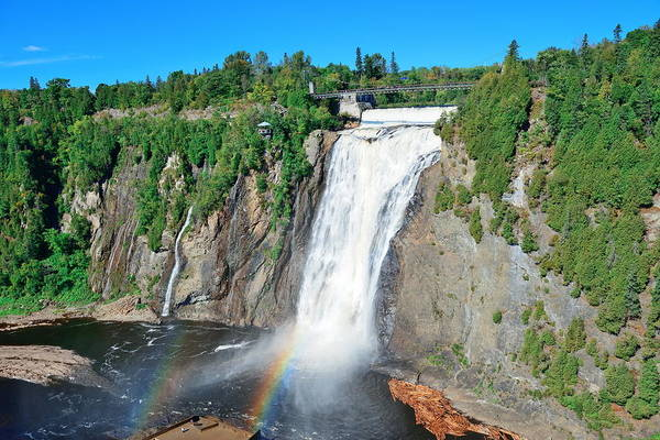 Photograph - Montmorency Falls by Songquan Deng