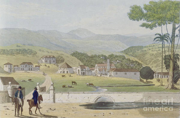 Grand Central Painting - Montpelier Estates - St James by James Hakewill