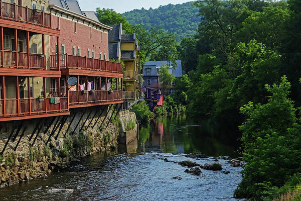 Photograph - Montpelier Vermont Winooski River by Toby McGuire