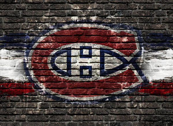 Montreal Digital Art - Montreal Canadiens Habshype by Nicholas Legault