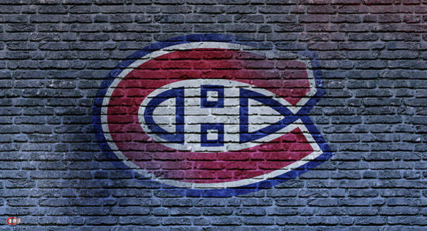 Montreal Canadiens Digital Art - Montreal Canadiens Wall by Nicholas Legault