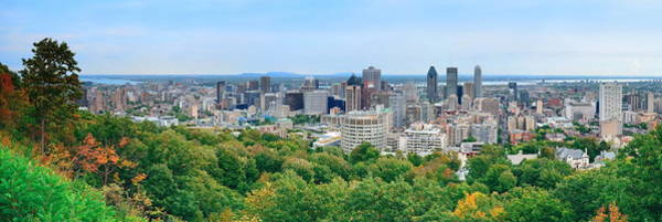 Photograph - Montreal Day View Panorama by Songquan Deng