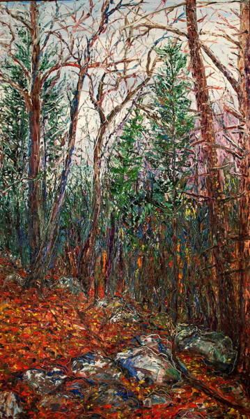 Follow Me Painting - Montville Wood by J E T I I I