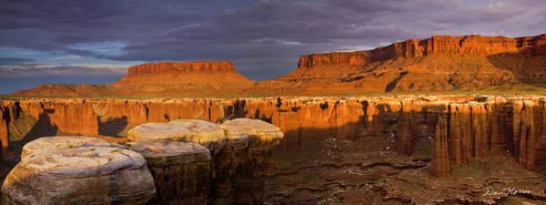 Photograph - Monument Basin Sunrise Panorama by Dan Norris