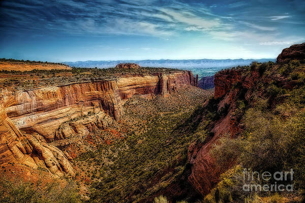 Grand Mesa National Forest Photograph - Monument Canyon And Saddlehorn by Jon Burch Photography
