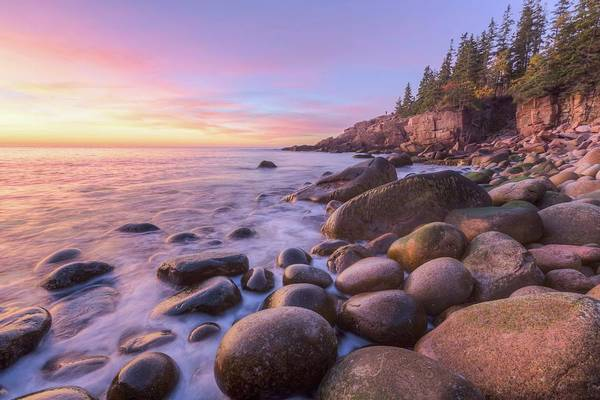Photograph - Monument Cove Morning Light by Paul Schultz