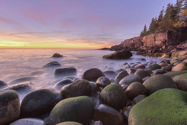 Photograph - Monument Cove Sunrise by Paul Schultz